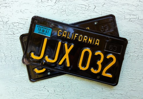 How To Register YOM Black CA Plates