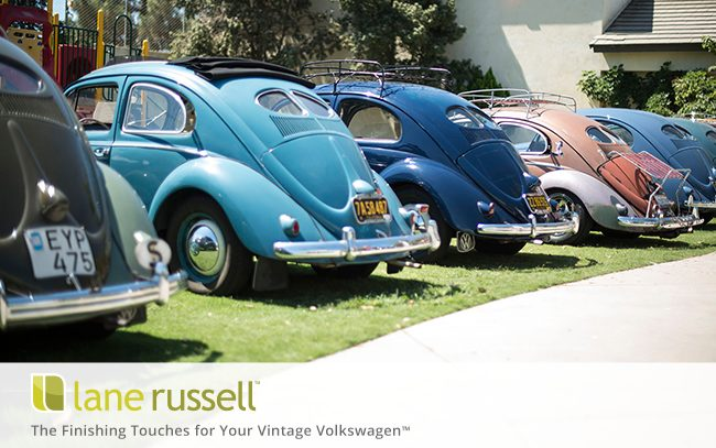 Vintage VW Parts, Classic Volkswagen Accessories, Air Cooled, NOS, OEM — Shop Lane Russell