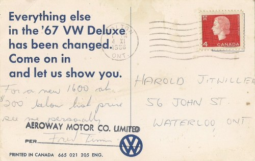 The '67 VW Deluxe Has Been Changed