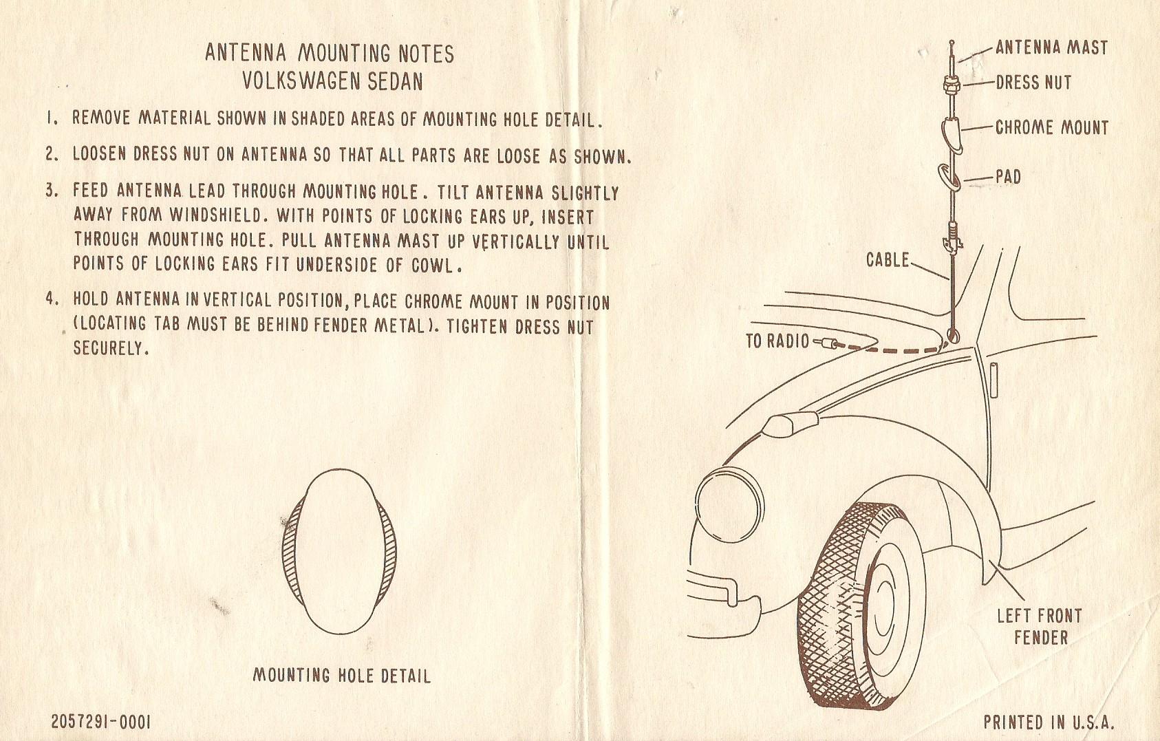 67 Volkswagen Beetle Am Sapphire V Radio 1967 Vw Beetle