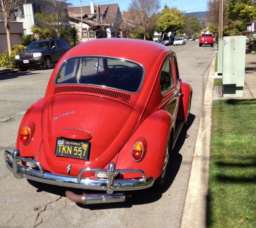 FOR SALE: L456 Ruby Red '67 Beetle