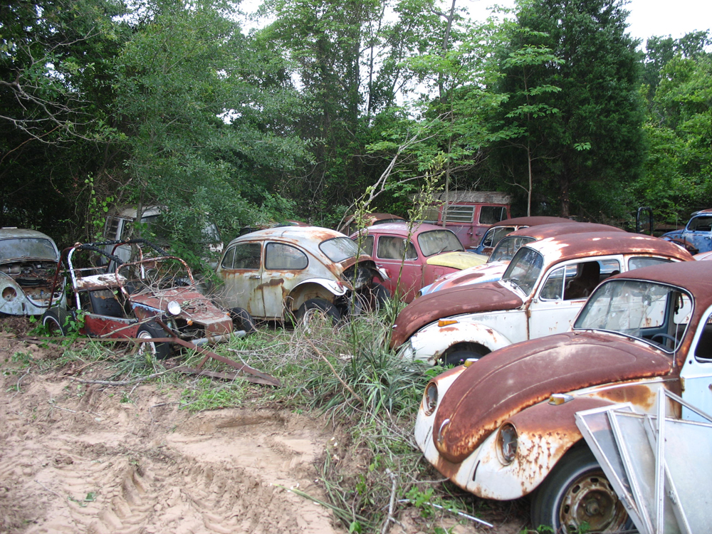Don's Bug Barn — A Vintage VW Salvage Yard – 1967 VW Beetle