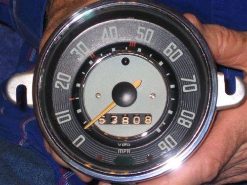 '67 Volkswagen Beetle —  A Speedometer Story
