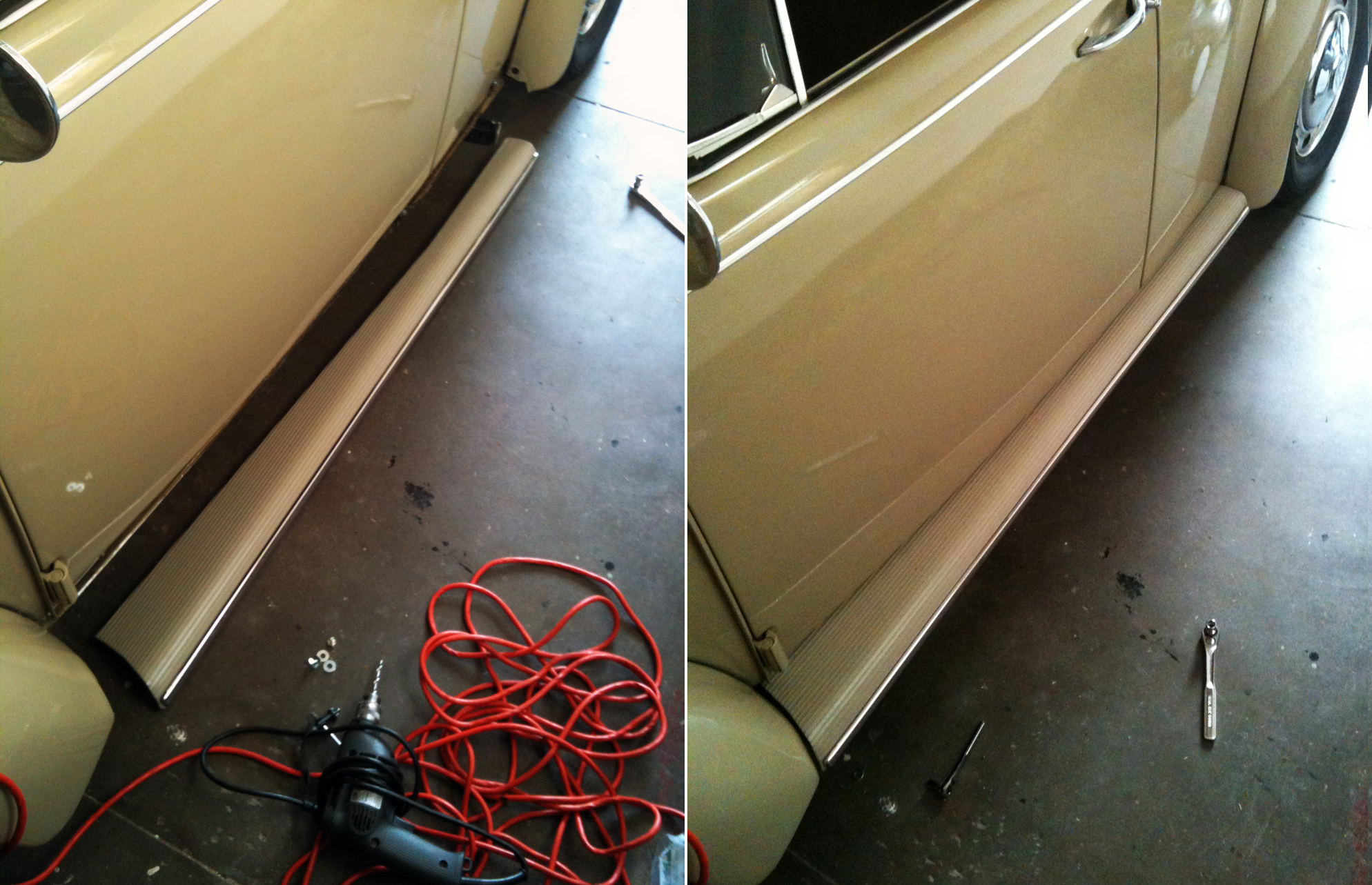 1967 Vw Bug >> Correct Running Board Color Combinations | 1967 VW Beetle