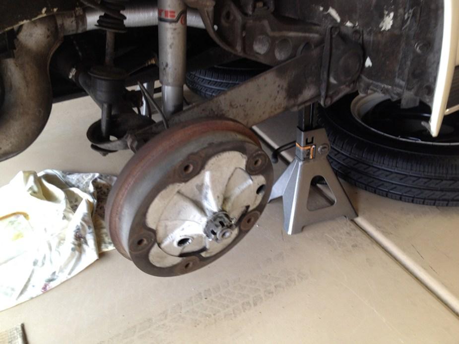 '67 Volkswagen Beetle — Raising The Rear