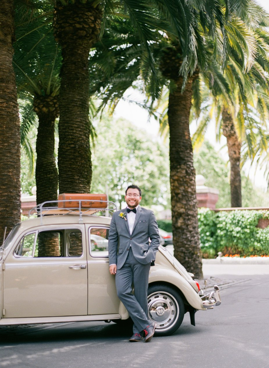 A Vintage Volkswagen Wedding