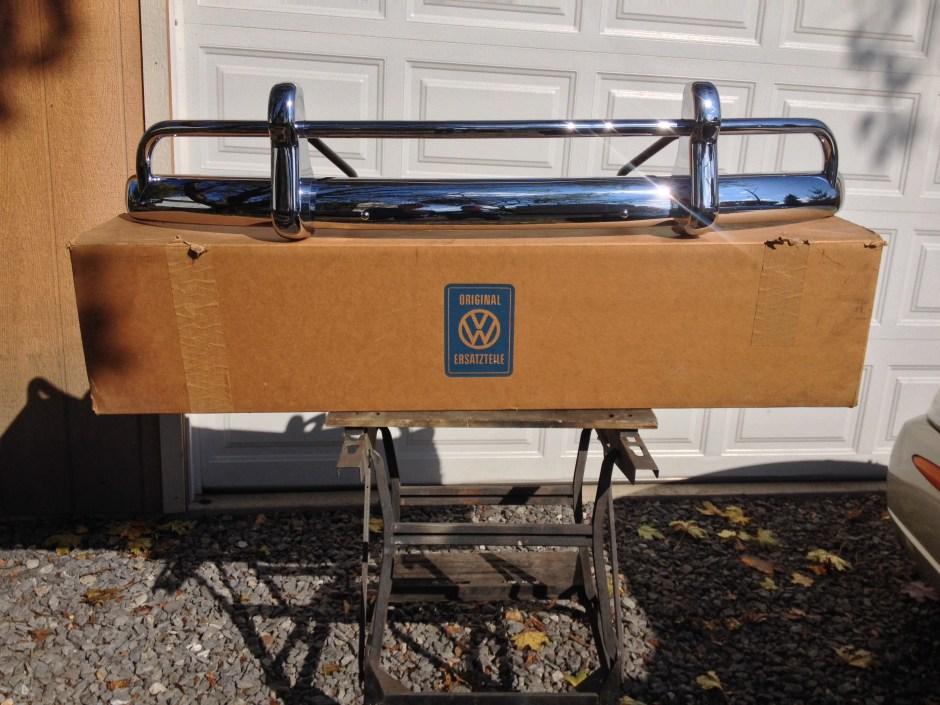 NOS '67 Beetle Front Bumper