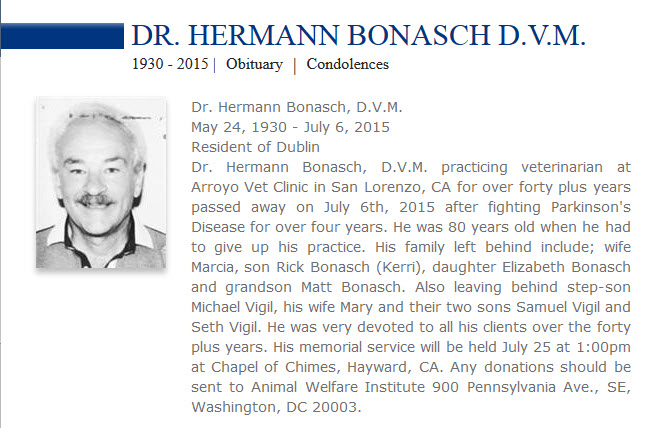 Hermann obituary notice