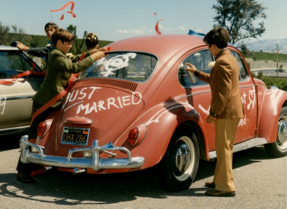 VW Bug at Wedding in the 70s_cropped tight