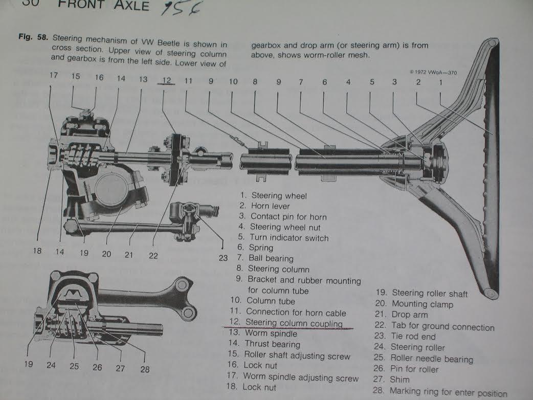 67 Vw Beetle Wiring Diagram Horn 1968 Mustang Steering Wheel 1967 Trusted On