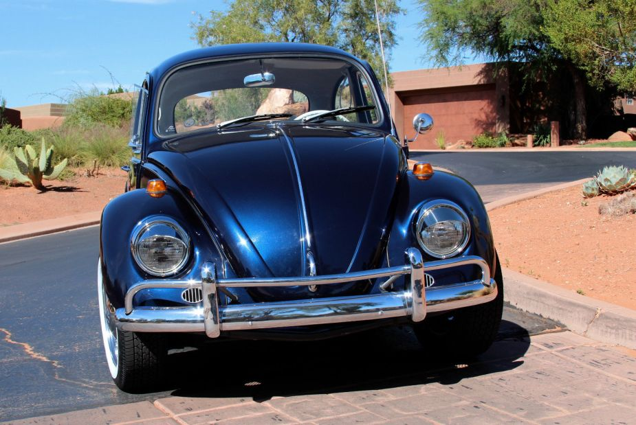 FOR SALE – L633 VW Blue '67 Beetle