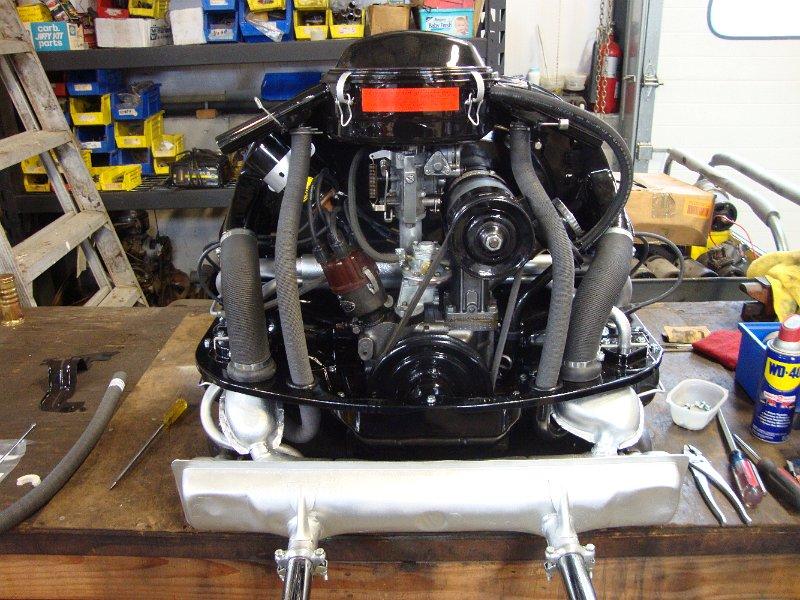 67 Beetle Engine Detail 1967 Vw Beetle