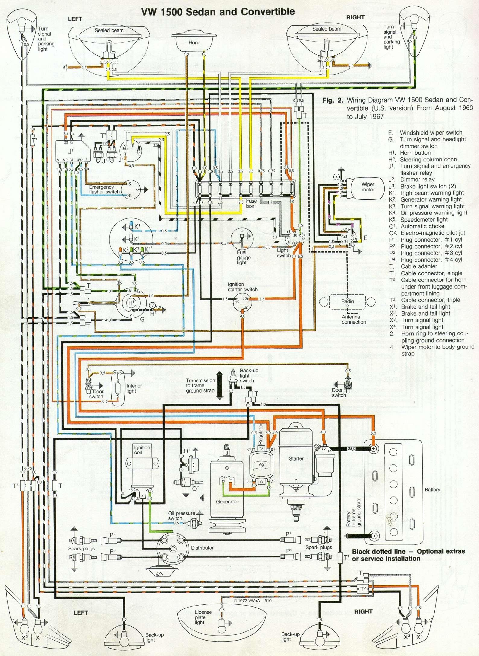 67 beetle wiring diagram u s version 1967 vw beetle turn flasher wiring vw beetle wiring digram