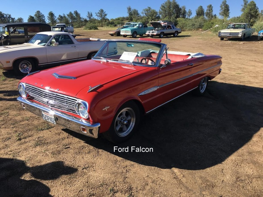 WallerPhotosRedFordFalconConvertible