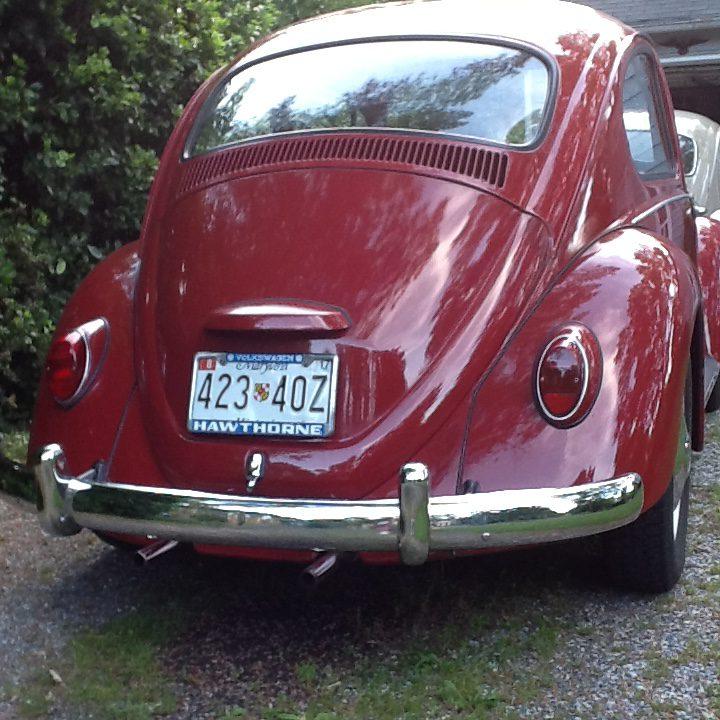 Todd Van Winkle's Standard '67 Beetle | 1967 VW Beetle Vw Engine Wiring To Back Of on