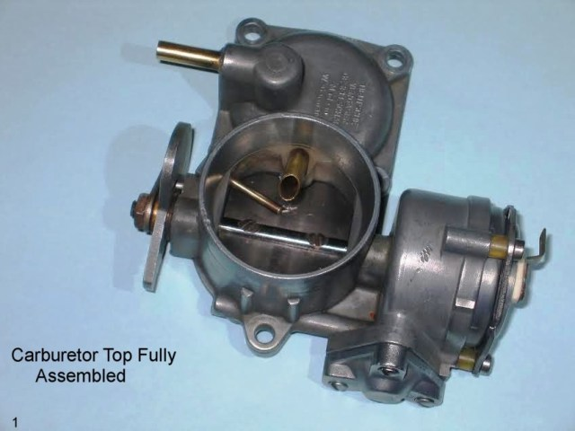 30 Pict-1 Carburetor Differences – 1967 VW Beetle1967 VW Beetle