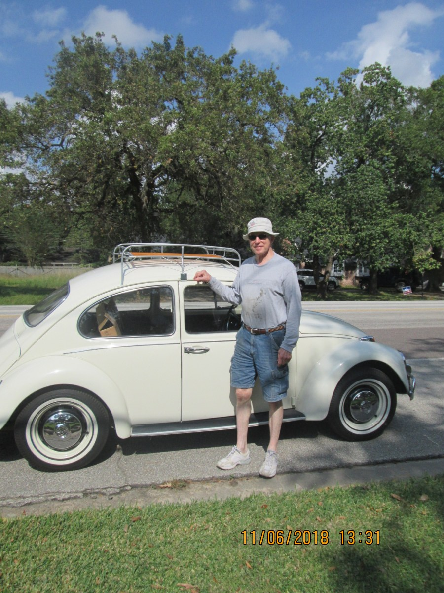 Thad Woodruff's L282 Lotus White '67 Beetle
