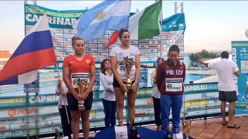 Capri-Napoli 2016 premiacion femenina