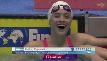Delfina Pignatiello Campeona Mundial Jr en 800m
