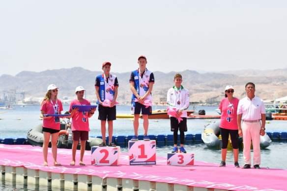 Campeonato FINA Mundial Junior de Aguas Abiertas Eilat 2018