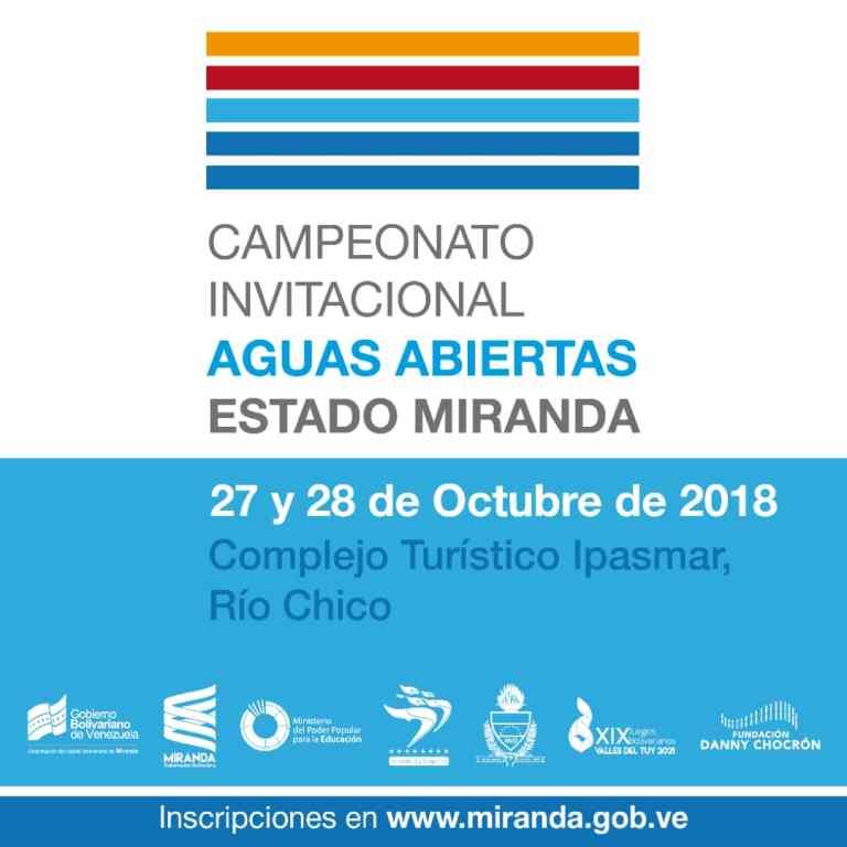 Campeonato Invitacional Aguas Abiertas Estado Miranda 2018