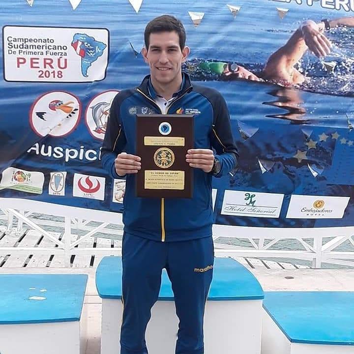Esteban Enderica trofeo Senor del Sipan 2018