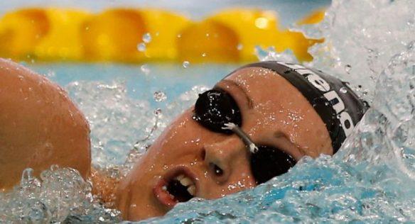 Kristel Kobrich es la primera sudamericana clasificada natación para Tokio 2020