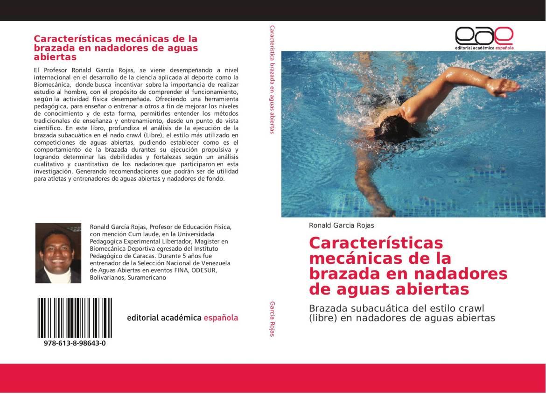 Características mecánicas de la brazada en nadadores de aguas abiertas