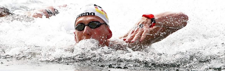 Florian Wellbrock de Alemania gano los 10 km masculinos
