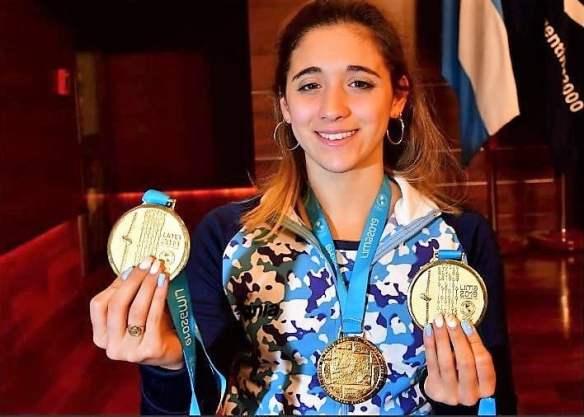 Lima 2019 conoce a los 19 deportistas más destacados de los Panamericanos Delfina Pignatiello