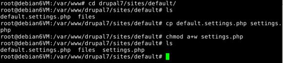 Fichier settings default