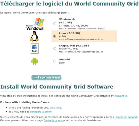 WCG install BOINC