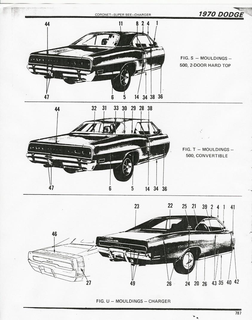 1970 Dodge Charger Registry