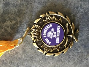 Medal for most funds raised