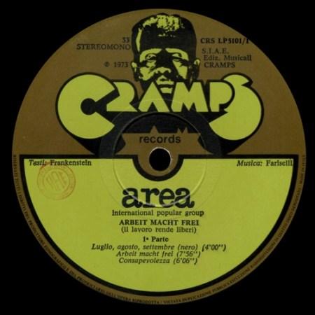 Cramps Records di Gianni Sassi. Centrale nella distribuzione italiana della musica colta internazionale (anni '70).