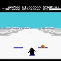 【ペギコプター】1985年(昭和60年)「けっきょく南極大冒険(ファミコン)」ペンギンがつまづいた時は「おっとっと」BGMに歌をつけながらプレイ