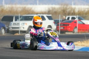 No one could match the pace set by Luke Selliken in Junior Max in round one(Photo: Sean Buur - Go Racing Magazine)