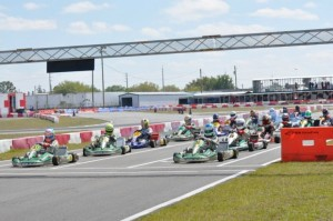 OGP drivers swept the podium in the shifter category as well as took home multiple wins throughout the race weekend (Photo: Florida Karting Championship Series)