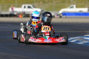 Payton Durrant's fourth win of the season in Micro Max gave him the series title and Rotax Grand Finals invitational ticket (Photo: Sean Buur - Go Racing Magazine)