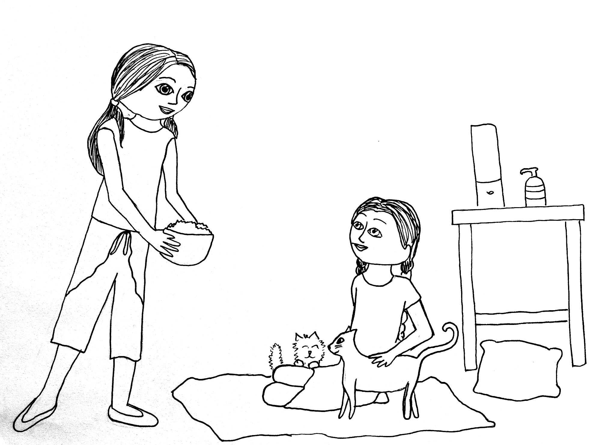 coloring pages for american girl color elf pictures 648828. native ... | 1482x2034