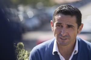 Manolo Jiménez, durante la entrevista | Foto: Ismael Molina
