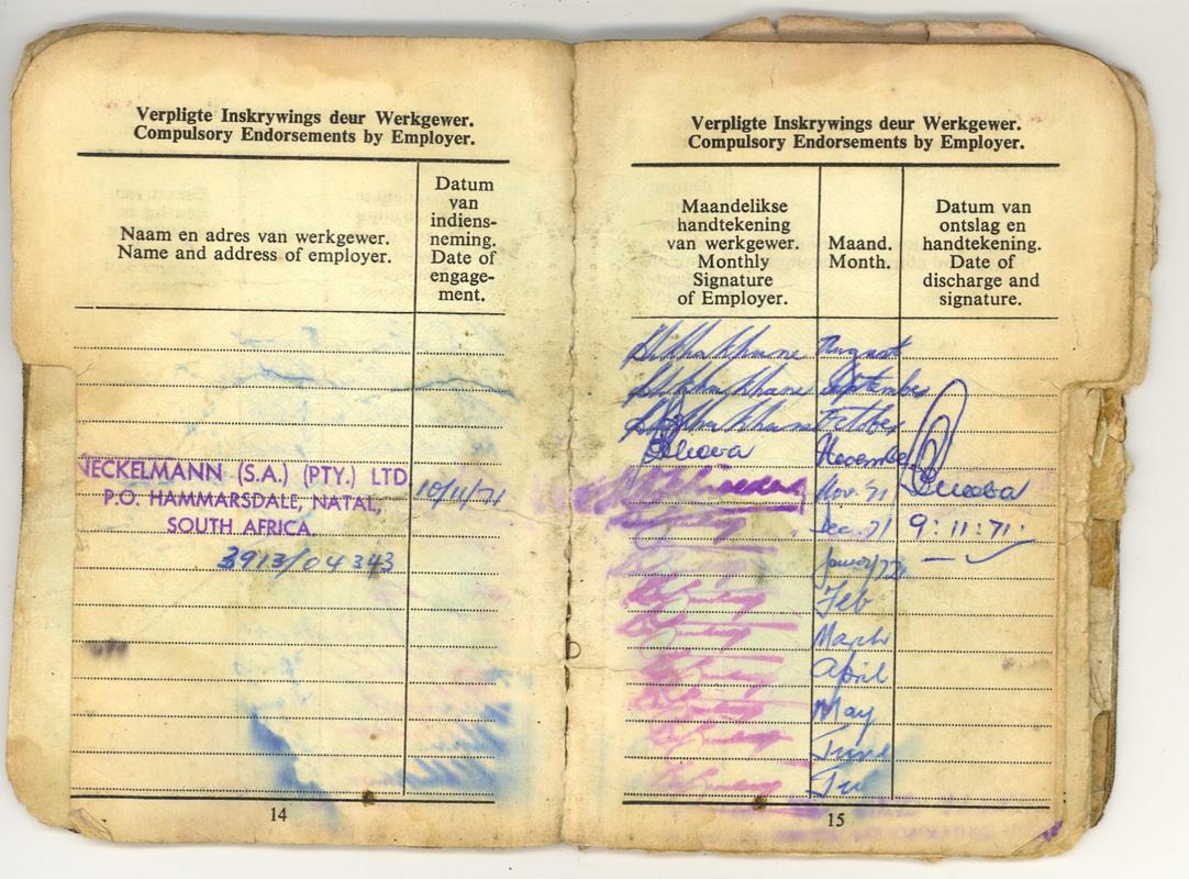 Causes - 1981 Springbok Tour