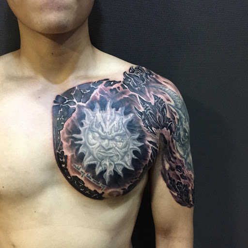 Chest tattoos for men : ideas and more