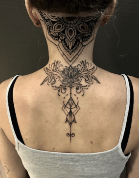 Twisting it: geometric lotus tattoo versus watercolor lotus tattoo