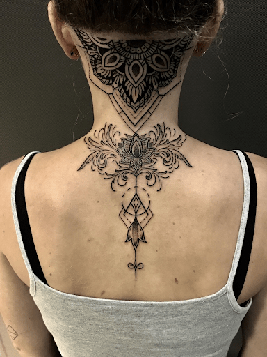 Twisting it: geometric lotus tattoo versus watercolor lotus tattoo
