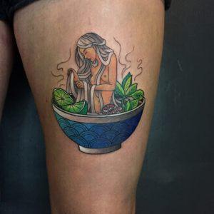 Vietnamese Pho tattoo