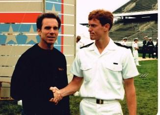 Joel Royal and Roger Staubach