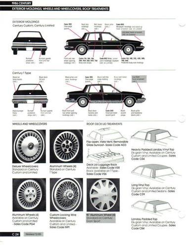 buick century wheels