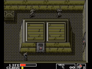 Metal Gear 1987Konami Game