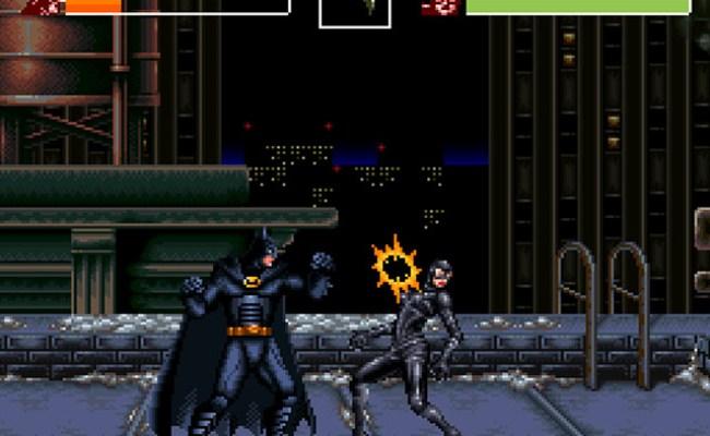 Batman Returns Europe Rom